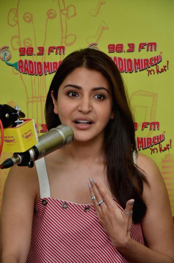 Actress Anushka Sharma at Radio Mirchi to promote Ae Dil Hai Mushkil in Mumbai on Oct 26, 2016. - Anushka Sharma