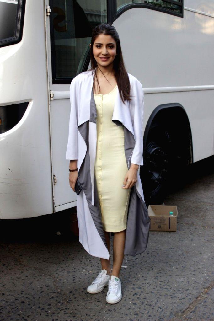 Actress Anushka Sharma during promotion of film Phillauri in Mumbai on March 7, 2017. - Anushka Sharma