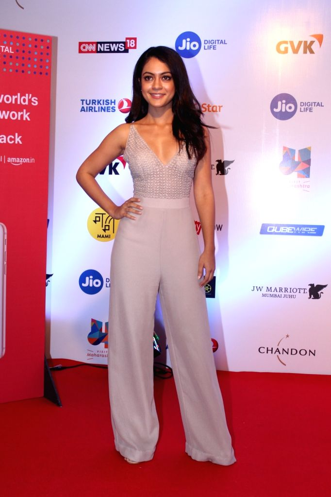 Actress Anya Singh at Mami Movie Mela 2017 in Mumbai on Oct 12, 2017. - Anya Singh