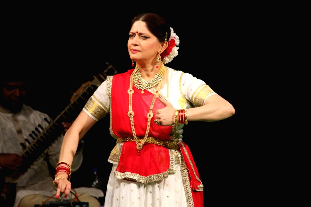 Actress Archana Joglekar during a programme in Mumbai on Aug 19, 2017. - Archana Joglekar