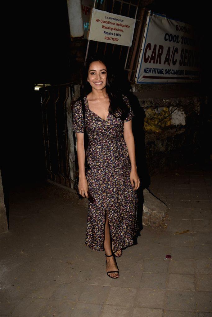 Actress Asha Negi seen at a Juhu salon in Mumbai on March 16, 2019. - Asha Negi