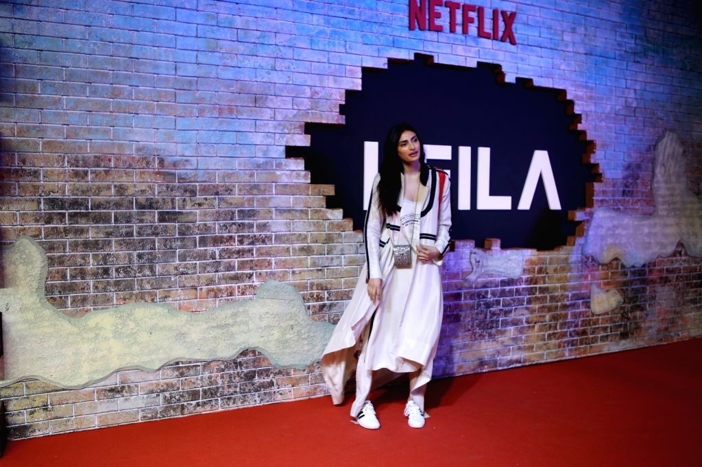 "Actress Athiya Shetty at the screening of the Netflix show ""Leila"", in Mumbai on June 7, 2019. - Athiya Shetty"