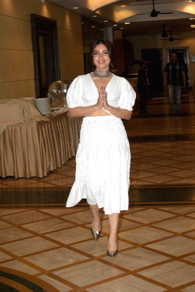 "Actress Bhumi Pednekar during the promotions of her upcoming film ""Saand Ki Aankh"" in Mumbai on Sep 20, 2019. - Bhumi Pednekar"