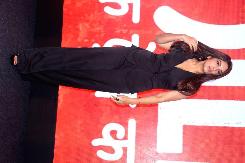 "Actress Bhumi Pednekar during the success press conference of the film ""Toilet: Ek Prem Katha"" in Mumbai on Aug 18, 2017. - Bhumi Pednekar"