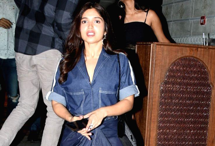 Actress Bhumi Pednekar seen at Bandra-Kurla Complex in Mumbai on May 31, 2019. - Bhumi Pednekar