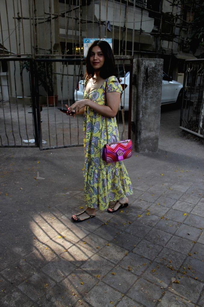 Actress Bhumi Pednekar seen in Mumbai's Juhu, on May 30, 2019. - Bhumi Pednekar