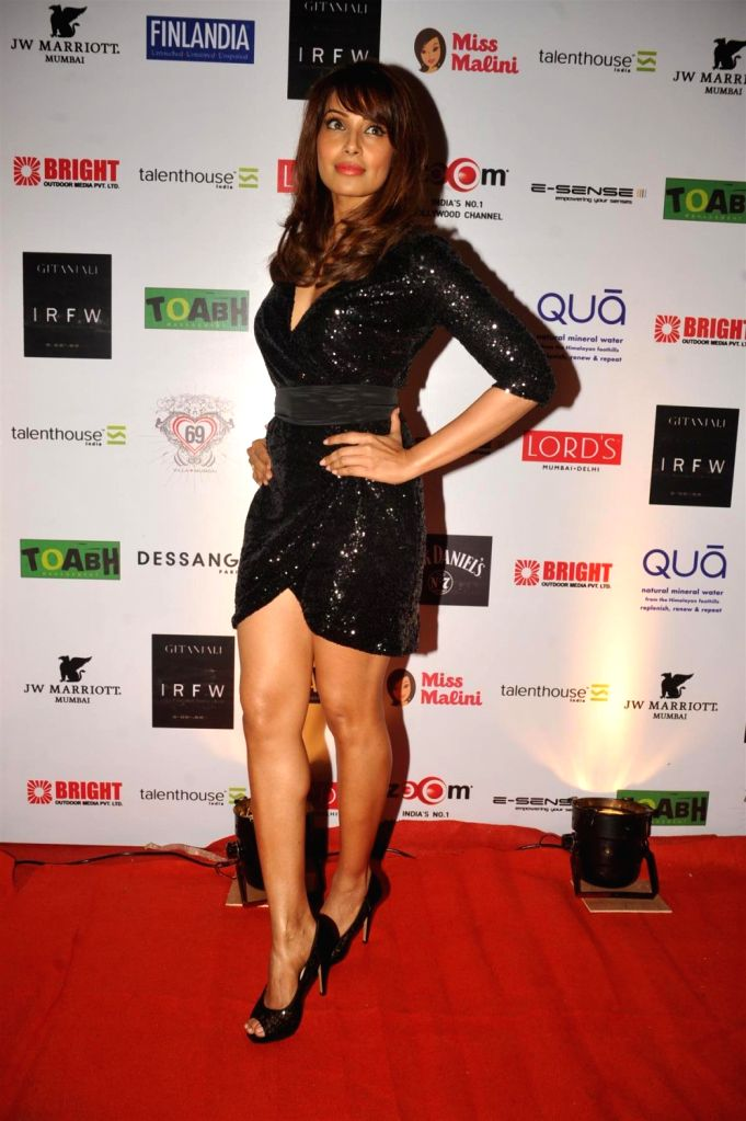 Actress Bipasha Basu at the 3rd Edition of India Resortwear Fashion Week (IRFW) 2013 in Mumbai on December 13, 2013. - Bipasha Basu