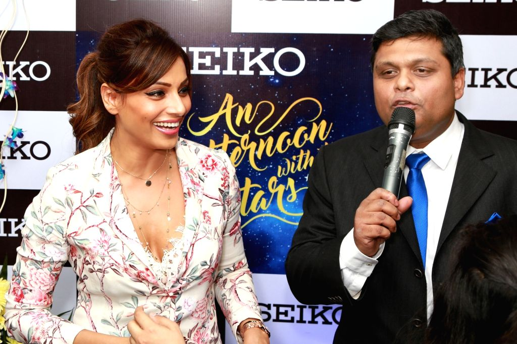 Actress  Bipasha Basu at the opening of a store in Noida, on March 31,2016. - Bipasha Basu