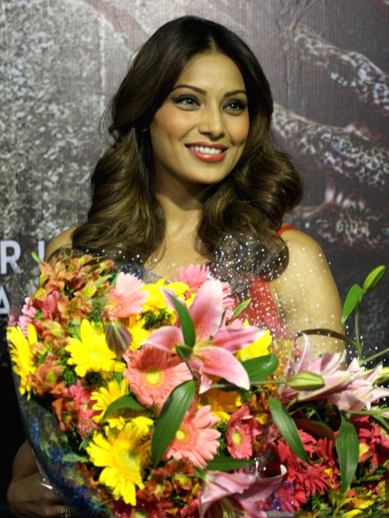 Actress Bipasha Basu during a press conference to promote her upcoming film 'Creature 3D' in Bangalore on Sept 11, 2014. - Bipasha Basu