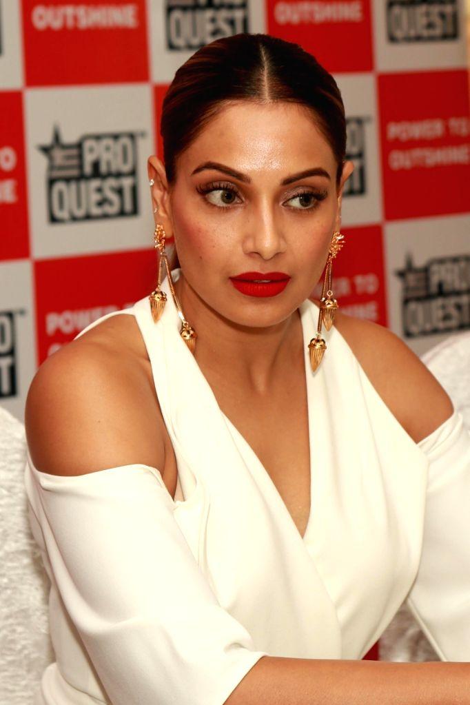 Actress Bipasha Basu during a promotional programme in New Delhi on July 2, 2017. - Bipasha Basu