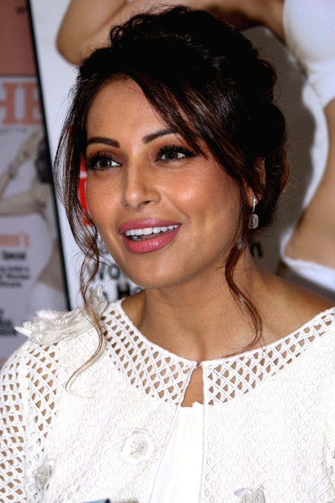 Actress Bipasha Basu during the unveiling of the March 2017 issue of Health & Nutrition magazine in Mumbai on March 14, 2017. - Bipasha Basu