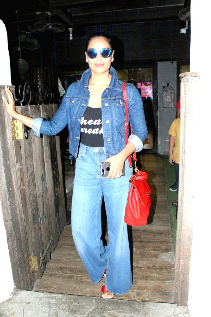 Actress Bipasha Basu seen at Mumbai's Bandra on May 22, 2018. - Bipasha Basu