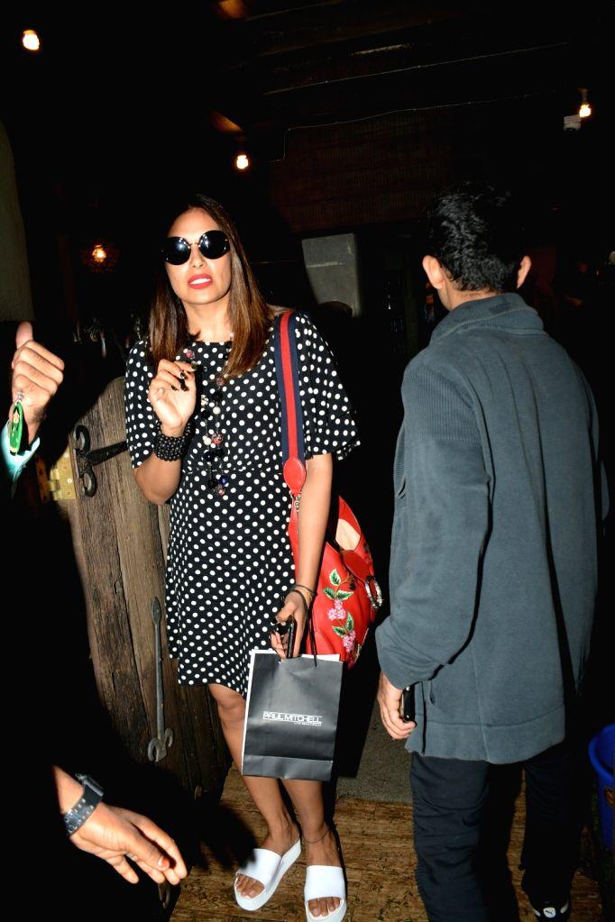 Actress Bipasha Basu seen at Mumbai's Bandra on July 11, 2018. - Bipasha Basu