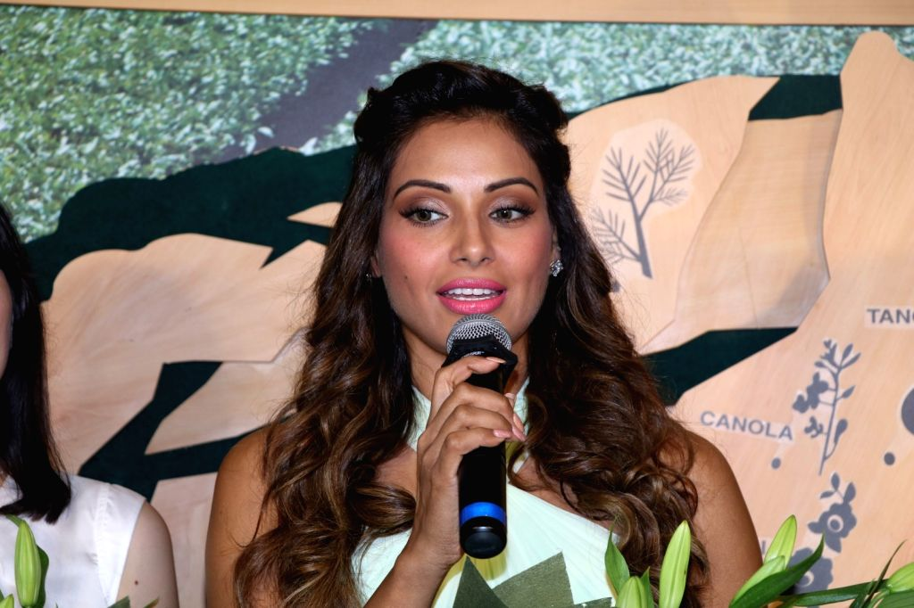 Actress Bipasha Basu Singh during the launch of Korean naturalism beauty brand Innisfree, in Mumbai on July 2, 2016. - Bipasha Basu Singh