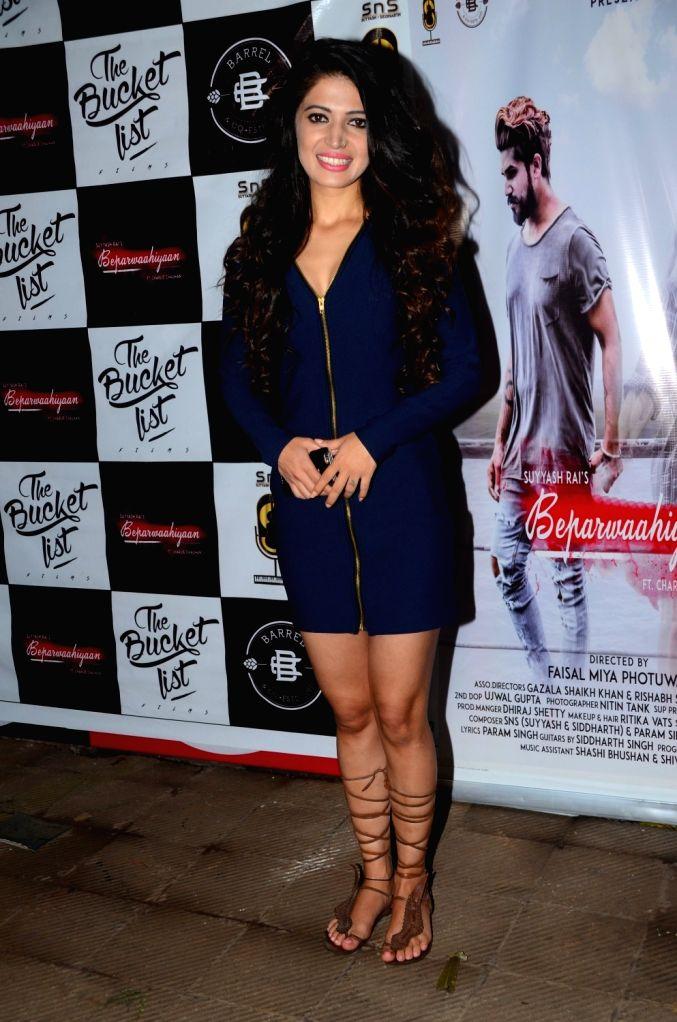 Launch of first Single 'Beparwaahiyaan'-Charlie Chauhan