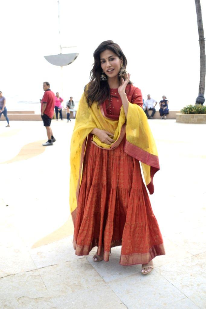 """Actress Chitrangada Singh during promotions of her upcoming film """"Saheb, Biwi Aur Gangster 3"""", in Mumbai on July 19, 2018. - Chitrangada Singh"""
