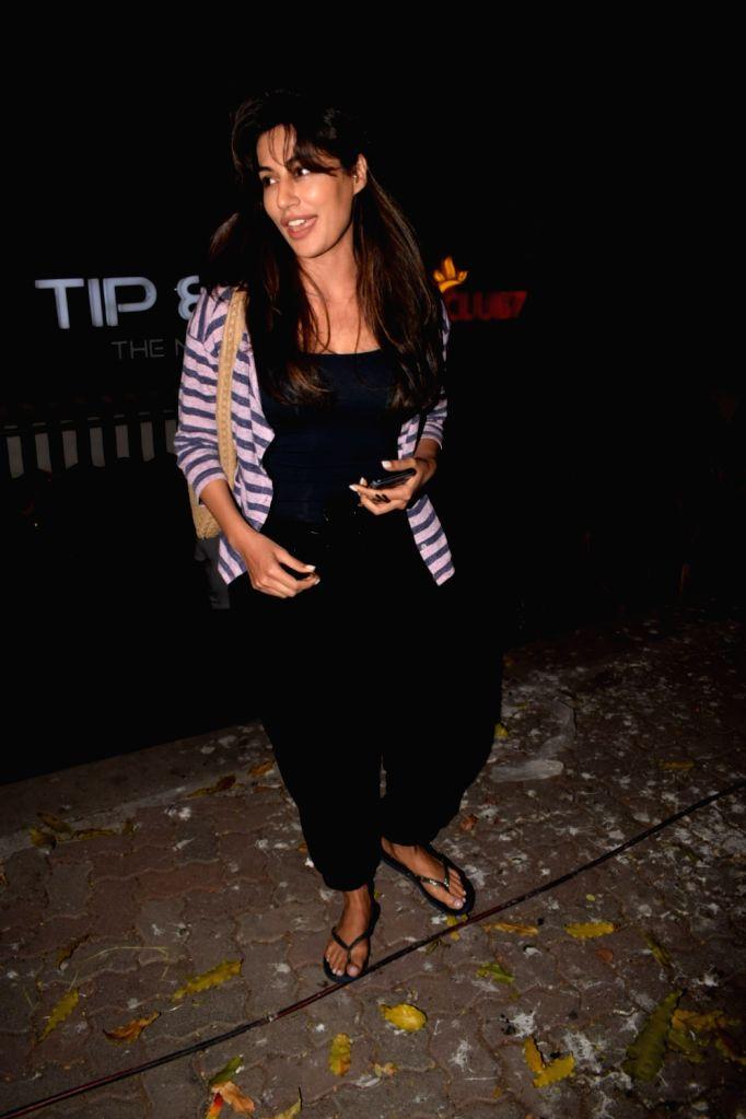 Actress Chitrangda Singh seen at a nail spa in Bandra, Mumbai on Feb 14, 2018. - Chitrangda Singh