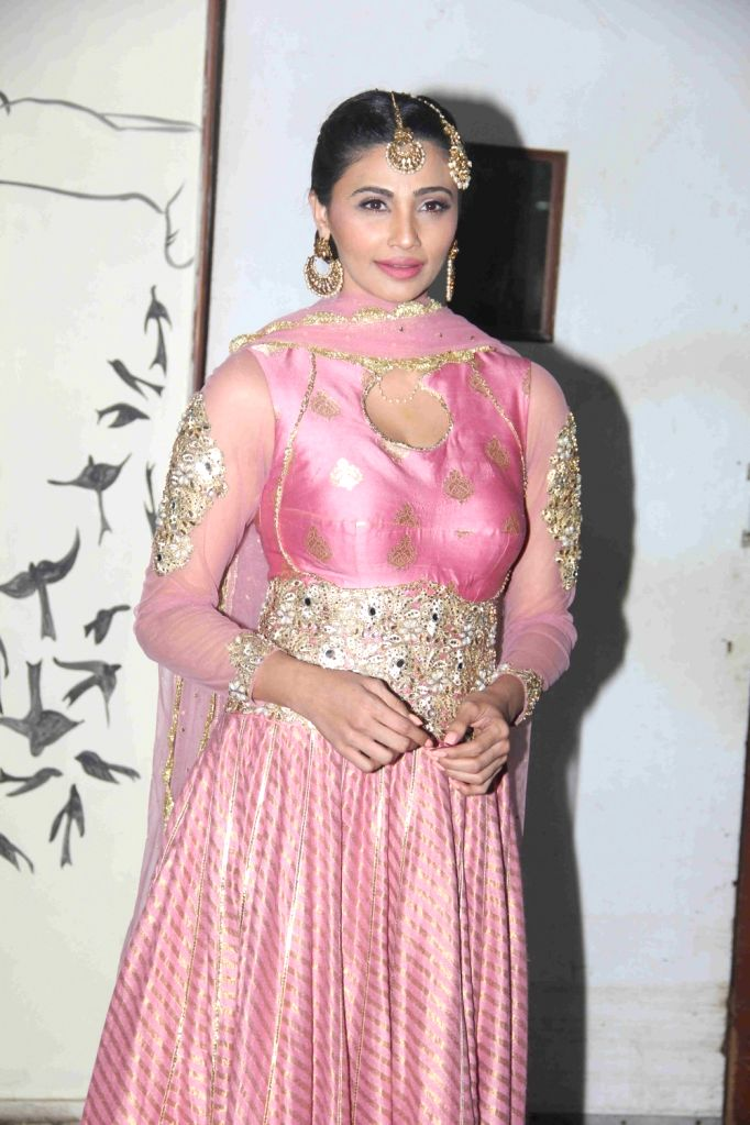 Actress Daisy Shah during the premiere of her debut play Begum Jaan, in Mumbai on July 2, 2016. - Daisy Shah