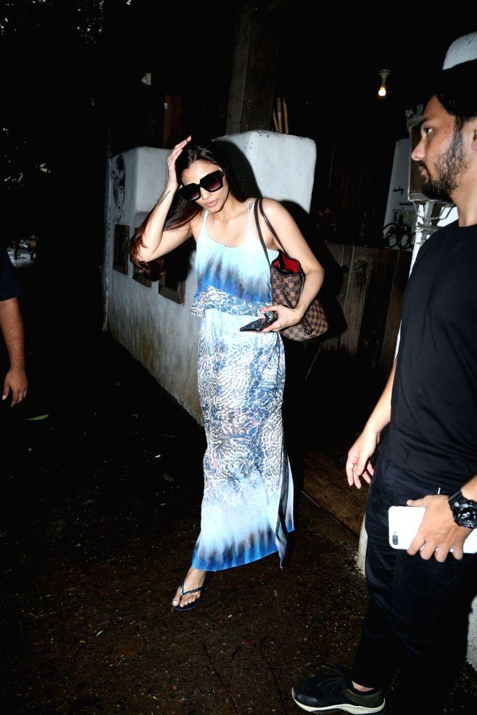 Actress Daisy Shah seen at Bandra in Mumbai on July 26, 2019. - Daisy Shah