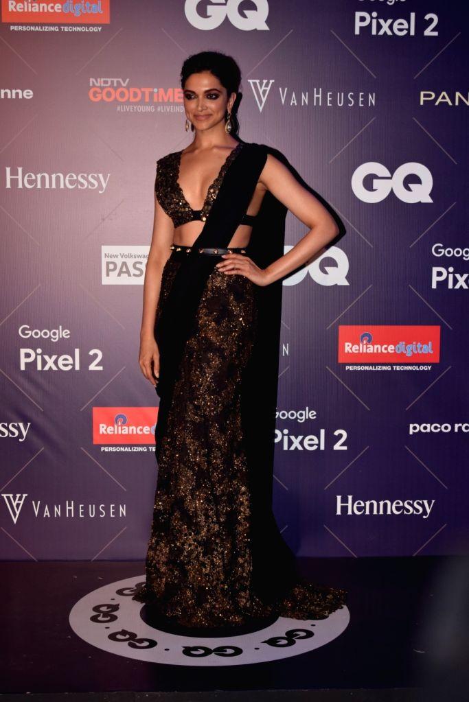 Actress Deepika Padukone at the GQ Fashion Nights 2017 in Mumbai on Nov 12, 2017. - Deepika Padukone