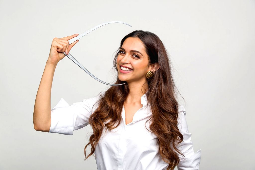 Actress Deepika Padukone during a session where she gave measurements to Madame Tussauds expert artists for the sitting for her figure, in London on July 23, 2018. Wax statue of Deepika ... - Deepika Padukone