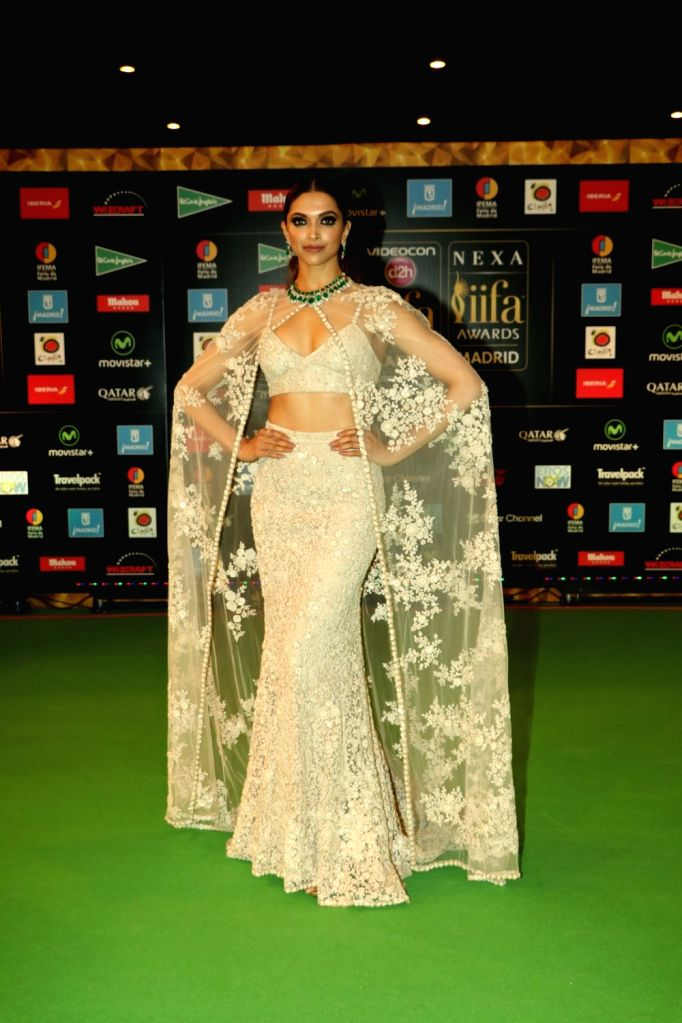 Actress  Deepika Padukone during IIFA Awards in Madrid on June 26, 2016. - Deepika Padukone