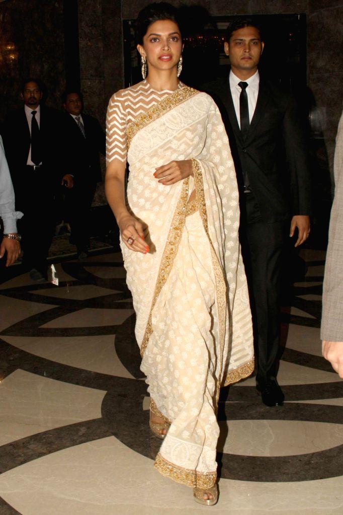 Actress Deepika Padukone during The CNN-IBN Indian of the Year awards function, in New delhi on December 20, 2013. - Deepika Padukone