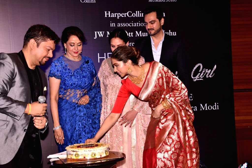 Book launch of Hema Malini's biography - Deepika Padukone ...