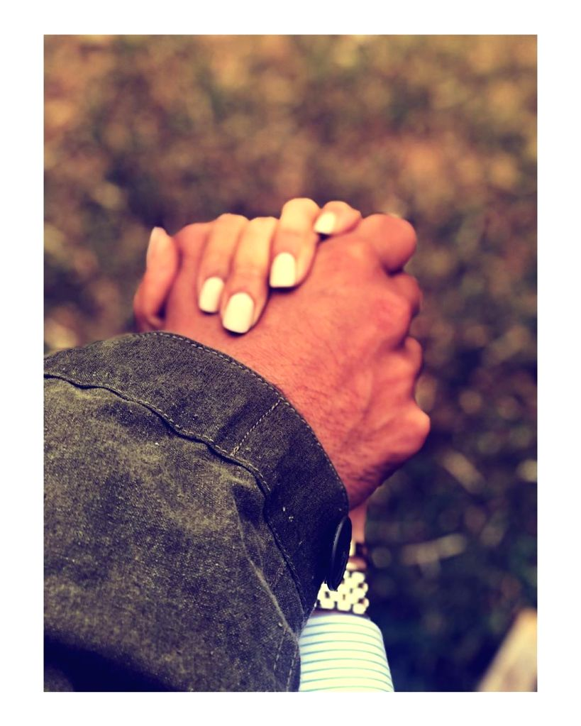 """Actress Deepika Padukone shared a romantic image in which she holds her actor husband Ranveer Singh's hand and called it """"complex simplicity"""". Deepika on Tuesday night shared a photograph in which the star couple are holding hands. She captioned it:  - Deepika Padukone and Ranveer Singh"""