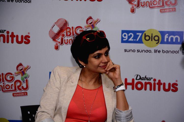 Actress-designer Mandira