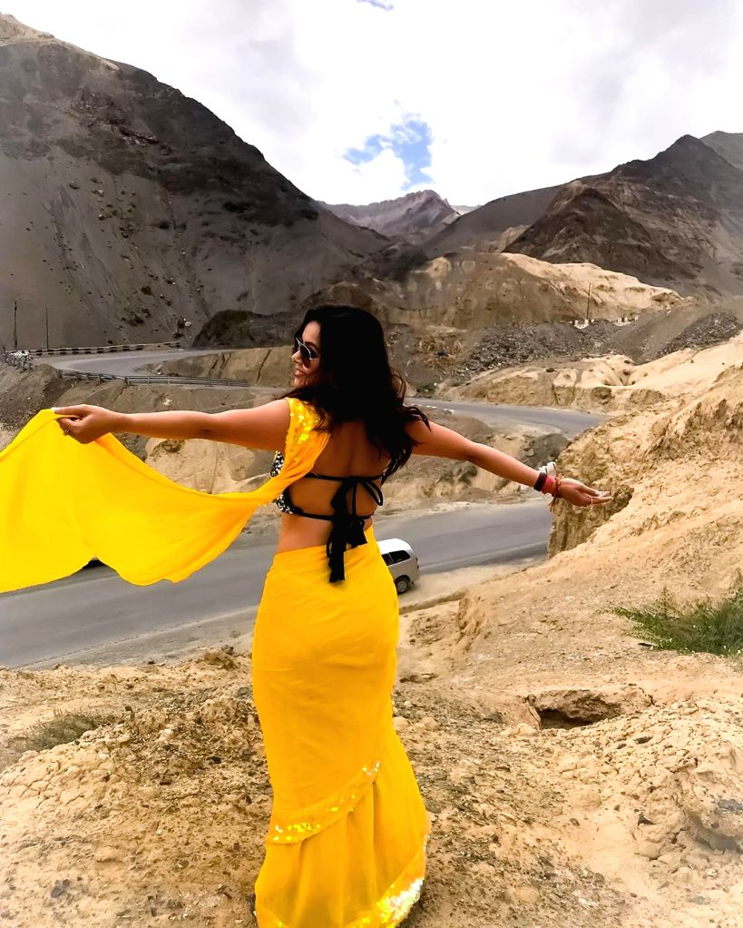 """Actress Devoleena Bhattacharjee, who is known for her role in TV show """"Saath Nibhaana Saathiya"""", will be featured for the first time in the video of Assamese song """"Ramdhenu"""". - Devoleena Bhattacharjee"""