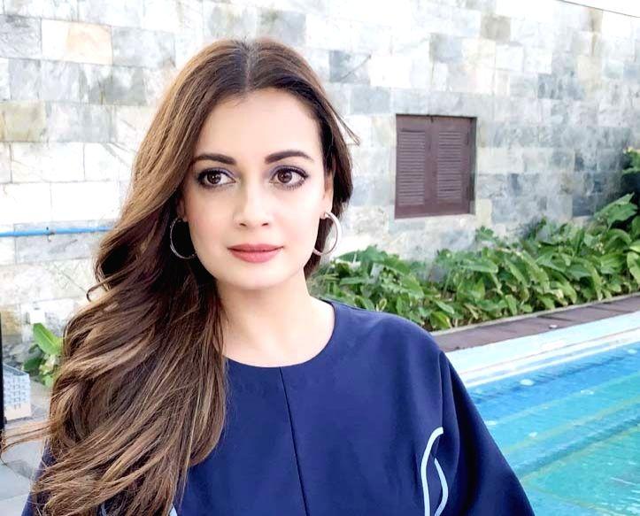 Actress Dia Mirza. - Dia Mirza