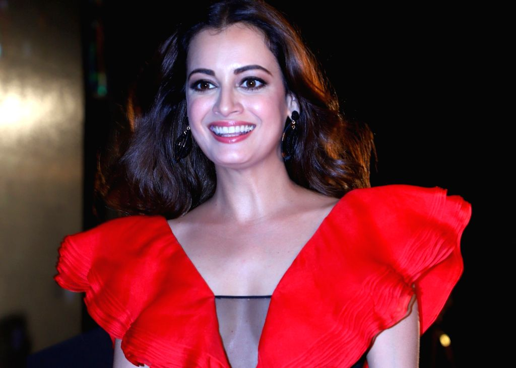 Actress Dia Mirza during a programme organised by fbb Colors Femina Miss India 2019, in Mumbai, on May 26, 2019. - Dia Mirza