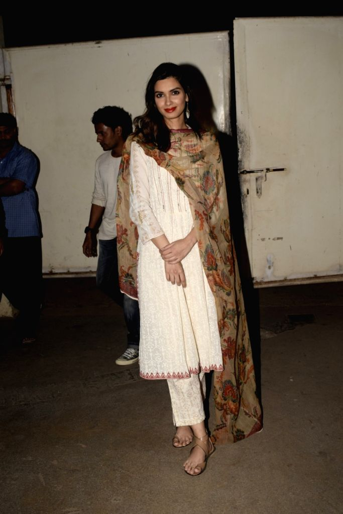 "Actress Diana Penty at the screening of an upcoming film ""Mere Pyare Prime Minister"" in Mumbai, on March 14, 2019. - Diana Penty"
