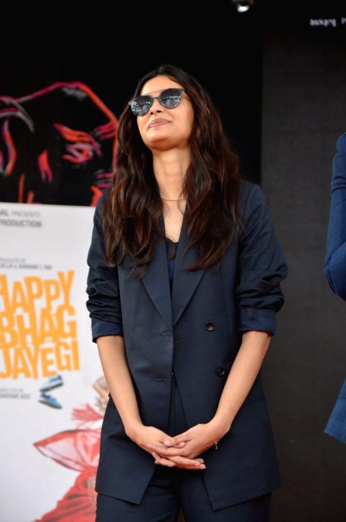 Actress Diana Penty during Mithibai College Umang Festival 2016 in Mumbai, on Aug 14, 2016. - Diana Penty