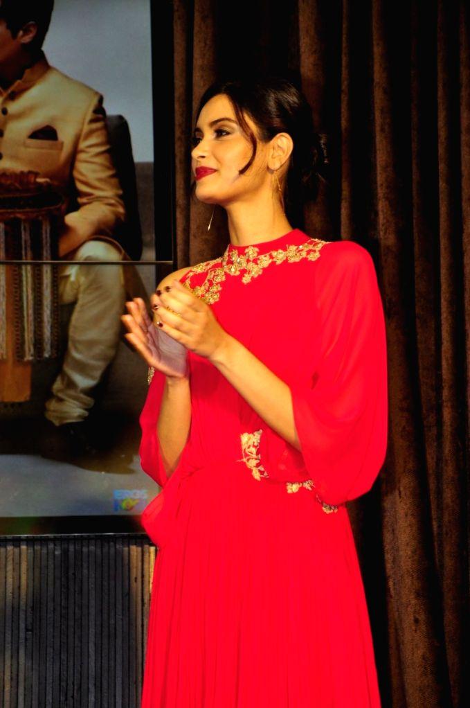 Actress Diana Penty during the music launch of film Happy Bhag Jayegi, in Mumbai on Aug 2, 2016. - Diana Penty