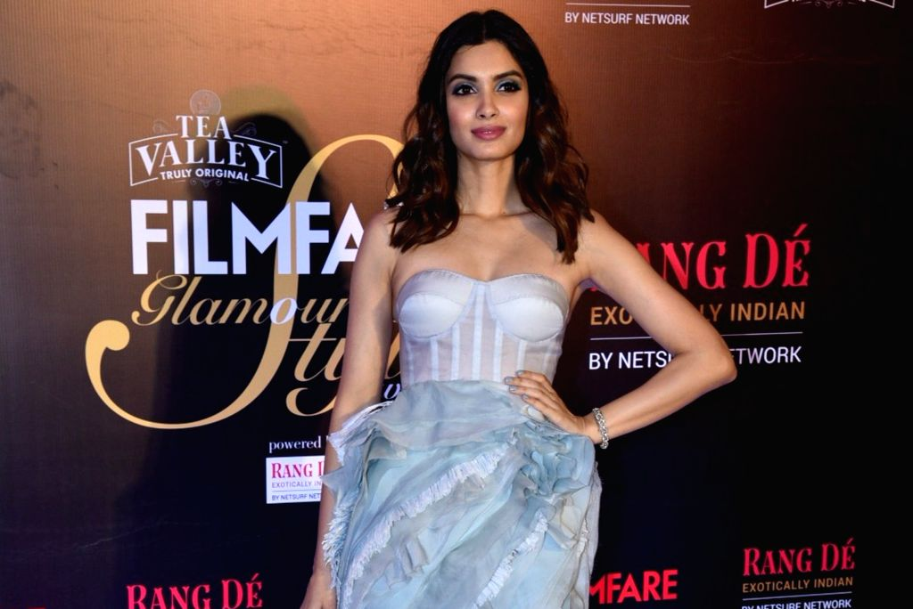 Actress Diana Penty on the red carpet of Filmfare Glamour And Style Awards 2019, in Mumbai on Feb 11, 2019. - Diana Penty