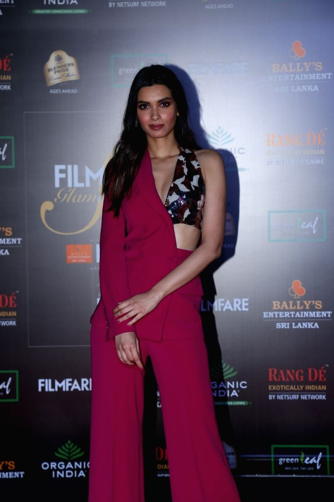 Actress Diana Penty on the red carpet of Filmfare Glamour And Style Awards 2019 in Mumbai on Dec 3, 2019. - Diana Penty