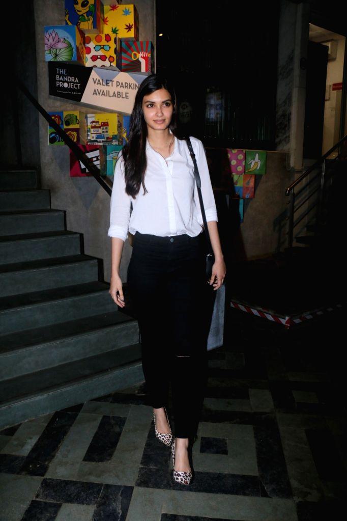 Actress Diana Penty seen at a restaurant in Mumbai on Feb 1, 2018. - Diana Penty
