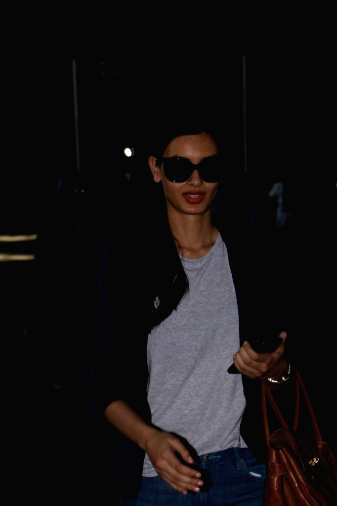 Actress Diana Penty Spotted At Airport in Mumbai, on June 1, 2017. - Diana Penty Spotted A