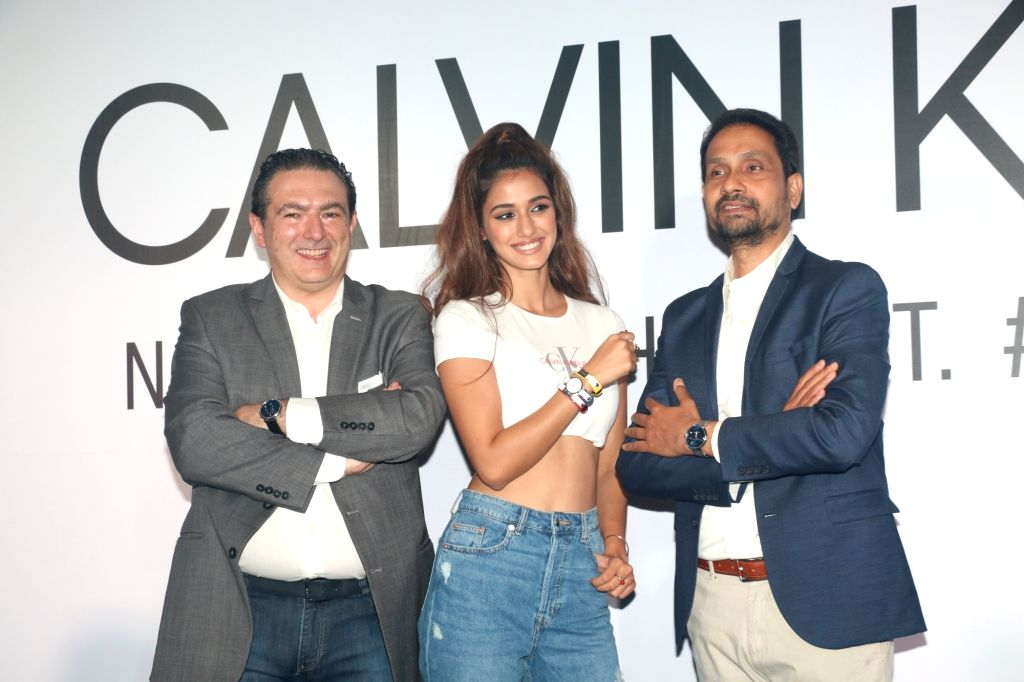 Actress Disha Patani at Calvin Klein watches latest collection preview, in Mumbai, on April 10, 2019. - Disha Patani