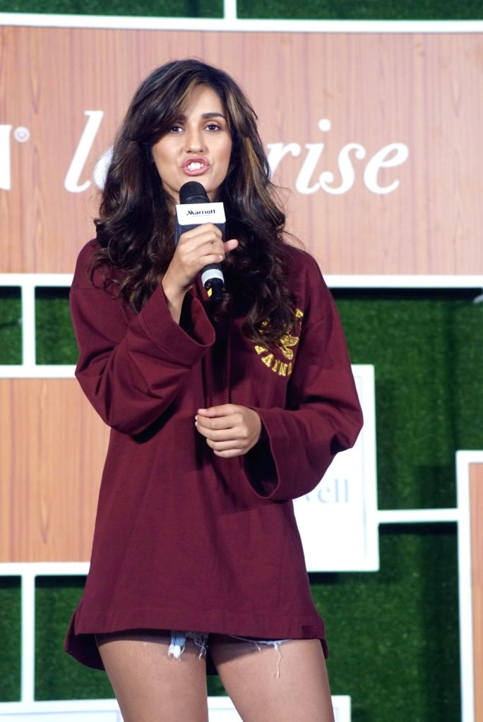 Actress Disha Patani during a programme in Mumbai, on June 11, 2018. - Disha Patani