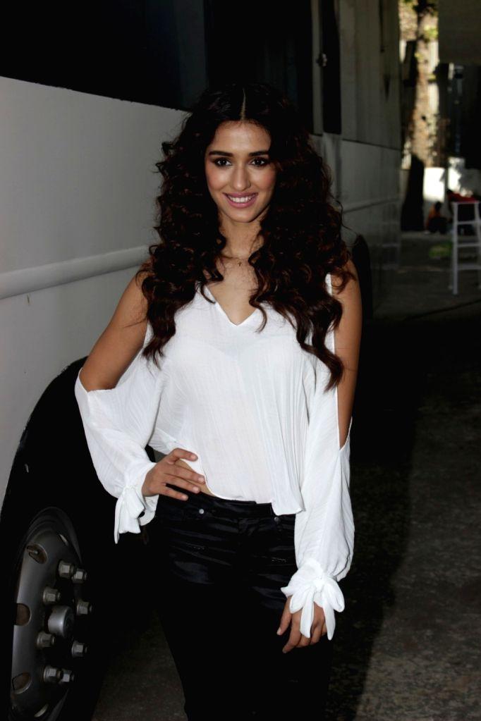 Actress Disha Patani during a promotional programme in Mumbai on March 4, 2017. - Disha Patani