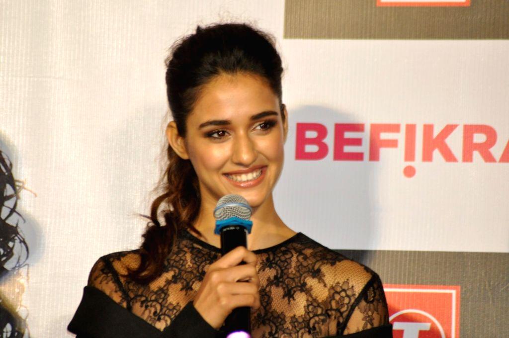 Actress Disha Patani during the launch of Single Befikra - Disha Patani