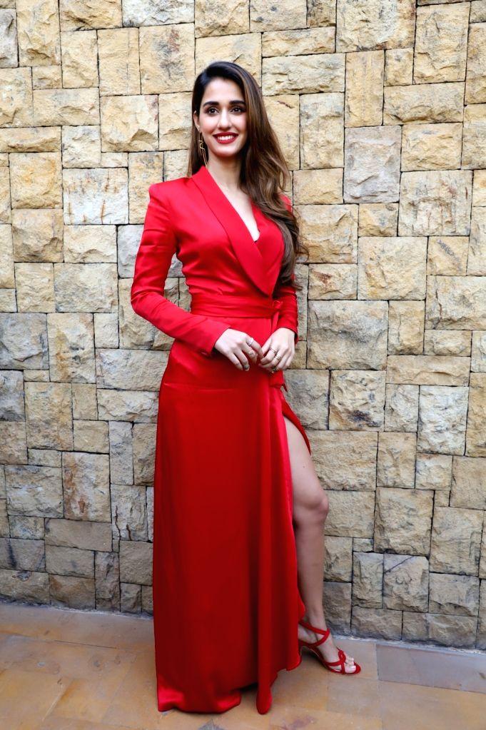 """Actress Disha Patani during the promotions of her upcoming film """"Malang"""" in Mumbai on Feb 5, 2020. - Disha Patani"""