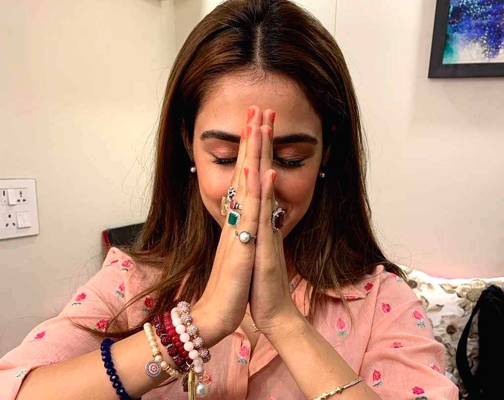 """Actress Disha Patani has been roped in for producer Ekta Kapoor's new project titled """"KTina"""". Ekta on Friday took to Instagram and announced the news among the netizens. She also  posted a photograph in which Disha is seen wearing a lot of rings on h - Disha Patani and Ekta Kapoor"""