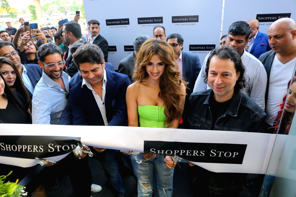 Actress Disha Patani inaugrates Shoppers Stop fagship department store at Tapasaya One, in Gurugram on Oct 16, 2019. - Disha Patani