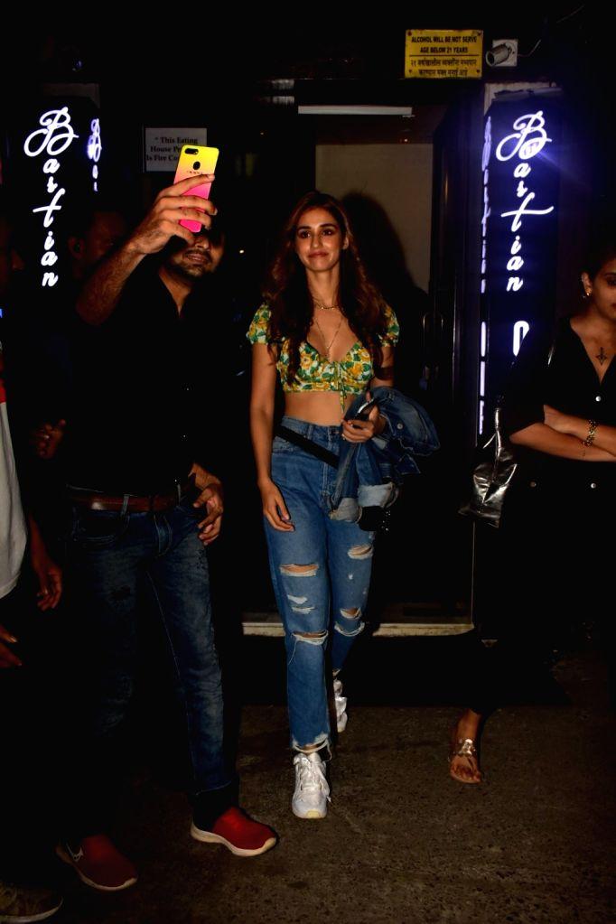 Actress Disha Patani seen at a Mumbai restaurant on Oct 11, 2019. - Disha Patani