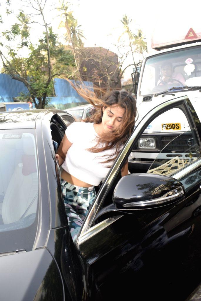 Actress Disha Patani seen at Juhu, Mumbai on March 4, 2019. - Disha Patani