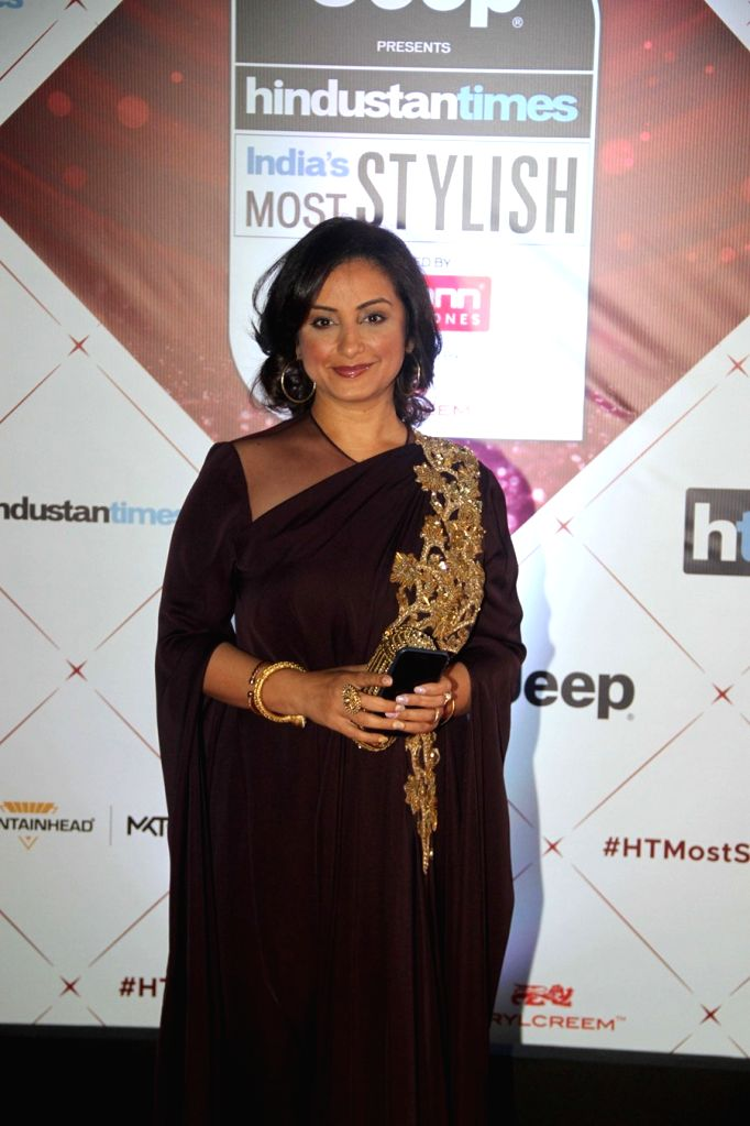"Actress Divya Dutta at the red carpet of ""HT India's Most Stylish Awards"" in Mumbai on Jan 24, 2018. - Divya Dutta"